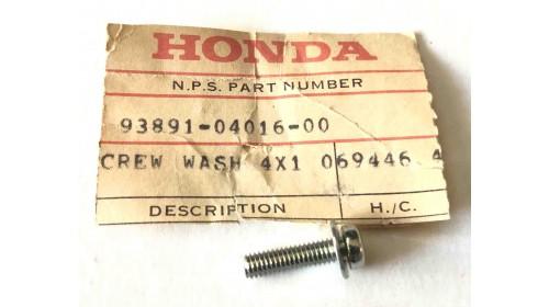 CBX | CT70 | XL200R NOS Honda Screw Washer 4mm x 16mm