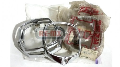 CA92 | CA95 | CA160 | CB92 NOS Honda Rim Headlight Trim Chrome