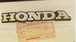 1972-1973 CB350 CB350G NOS Honda Left Side Tank Badge