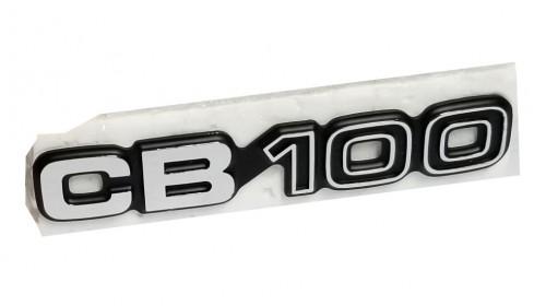 1972 CB100 NOS Honda Side Cover Emblem Badge