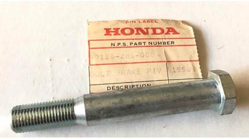 1970-1973 CB350 CL350 Honda Brake Pivot Bolt