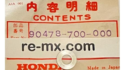 QA50 l CB350 l XR100 l CL450 NOS Honda Washer A 6mm