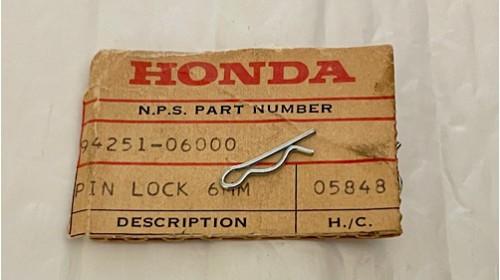 ATC I CR125 I CR250 Honda NOS 6mm Lock Pin