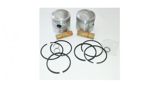CA72 | CB72 | CL72 NOS Honda Piston Kit .75mm, 3rd Over with Rings