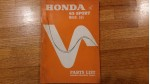 Official Honda 65 Sport S65  Part List with Diagrams