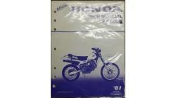 1981 XR500 Official Honda Shop Service Manual