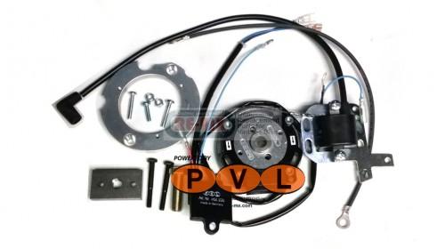 CZ 125 Fat Crank PVL Analog Ignition