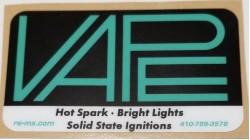 V.A.P.E. Business Card Sticker