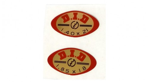 1974-1978 CR125 21in 18in DID Rim Decal Set
