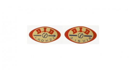 CR250 | CR250R 21in 18in DID Rim Decal Set