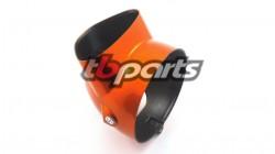 1969-1971 CT70  | CT70H Replacement Candy Topaz Orange Headlight Bucket