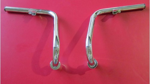 1969-72 CT70 Chrome Handlebars