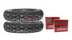 CT70 | CT70H 2 Bridgestone 4.0-10 With 2 Tubes