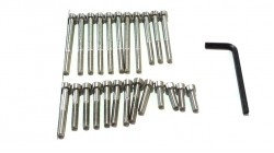 CT70 | SL70 | Z50A | Z50R Stainless Allen head Engine Bolts
