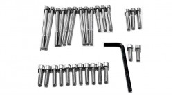 1976-1978 CR125M Stainless Allen Head Engine Bolts