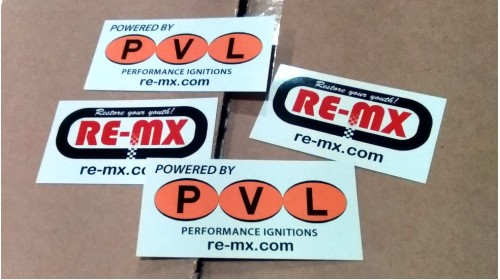 Powered By PVL Sticker