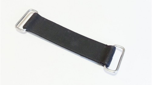 Battery Strap 13 12.3cm overall 10.5cm rubber 4-3/16 4-7/8 overall