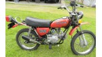 1974 Honda XL70 Side Cover Decal Set