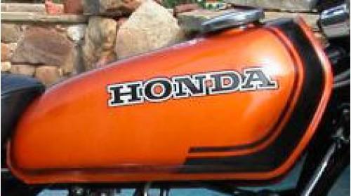 1974 Honda XL70 Tank Decal Set