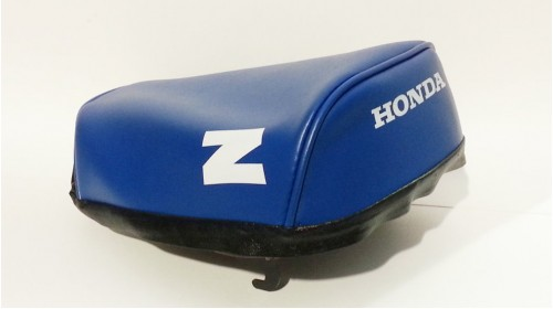 1984 Honda Z50R Seat Cover Blue with White Z