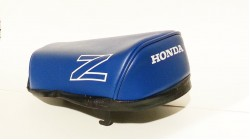 1986-87 Honda Z50R Seat Cover Blue with White Z