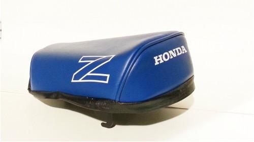 1986-87 Honda Z50R Seat Cover Blue with White Z