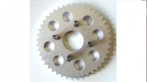 CT70   SL70   XL70   XR75   XR80 Aluminum Rear Sprocket - Standard Holes