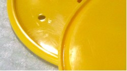 MR50 | XR75 | Z50R Oval Front Number Plate Yellow