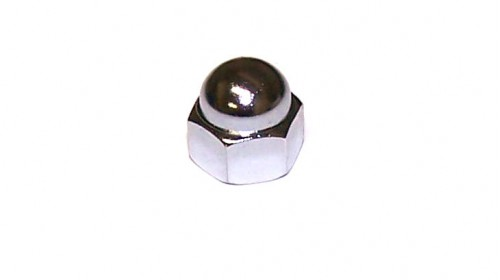 8mm Chrome Plated Cap Nut
