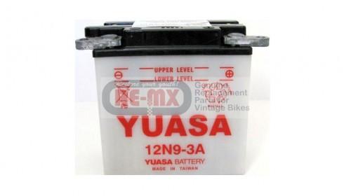 CA77 | CB77 Yuasa 12N9-3A 12 volt battery