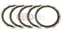CB77 | CL77 Kevlar Fiber Clutch Plate Set of 5