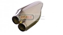 Honda 250 CL72 | 305 CL77 Chrome Replacement Muffler Exhaust