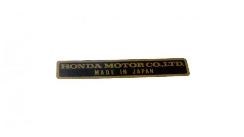 Honda - Made in Japan Decal