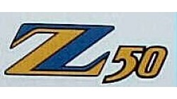 1974 Honda Z50A K5 Side Cover Decal