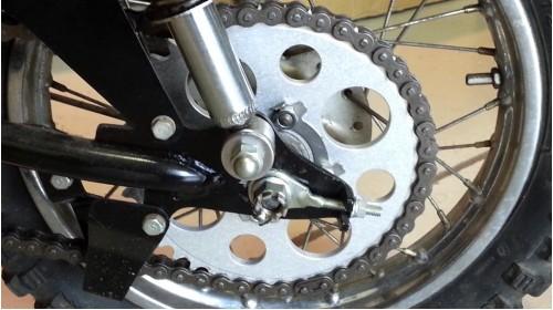 1974-1975 MR50 Rear Sprocket Alternate Lightening Holes