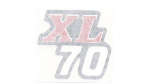1975 Honda XL70 Side Cover Decal Set