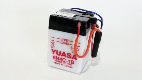 Yuasa 6N4C-1B 6 volt battery