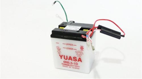 Yuasa 6N5.5-1D 6 volt battery