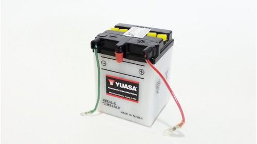 Yuasa YB2.5L-C 6 volt battery