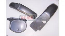 Honda MR50 Complete Silver Fenders Body Kit