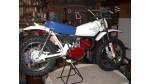 Honda MR50 Complete White Fenders Body Kit