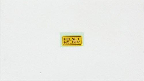 SL70 | XL70 | XL80 | MT125 | MT250 Honda Helmet Holder Decal