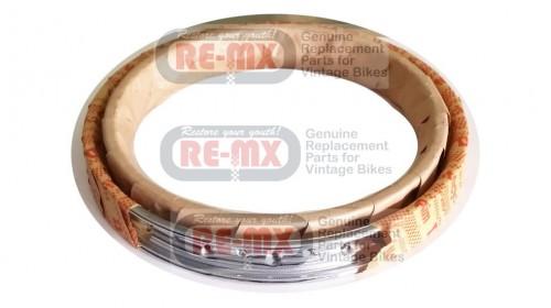 Honda XR75 | SL70 | XL70 | XR80  Chrome 16in 36 Hole DID Rim, Front