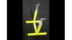 TT Fully Adjustable Show Stand Yellow