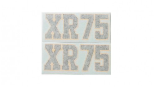 1975-1976 XR75 Side Cover Decal Set