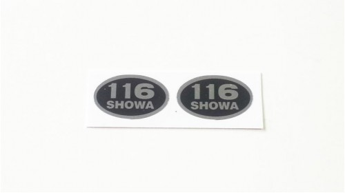 1973-1976 Honda XR75 Showa Shock Decal