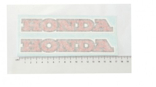 1979 XR80 Honda Tank Decal Set
