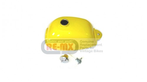 1972-1978 Z50A Replacement Fuel Tank Yellow