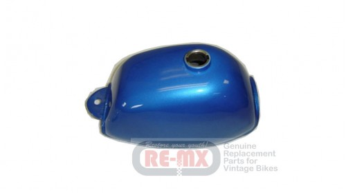 1972-1978 Z50A Replacement Fuel Tank Candy Blue