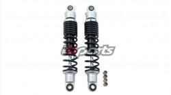 Z50A | Z50R | CT70 Rear Shock 13in 330mm Chrome | Black Springs